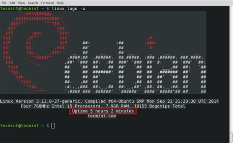 Linux_Logo - A Command Line Tool to Print Color ANSI Logos