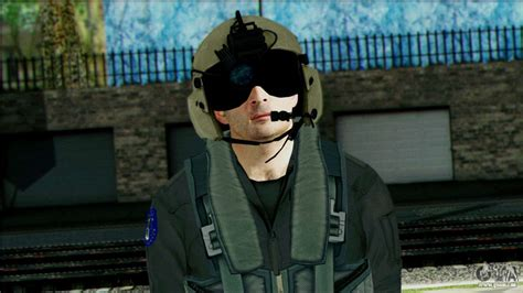 USA Helicopter Pilot from Battlefield 4 pour GTA San Andreas