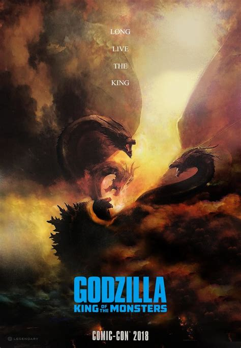 First Trailer for 'Godzilla: King of the Monsters' Brings