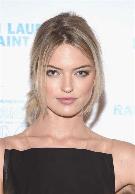 Martha Hunt Wears Gold Jaw Mask | InStyle