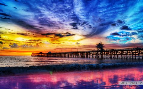 Beautiful View Of Sunset Wallpaper | Free Wallpapers