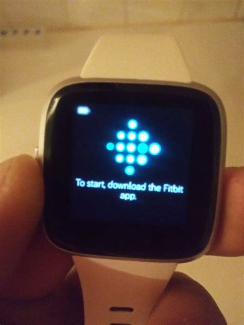 Versa Lite malfunctioning after Factory Reset - Fitbit