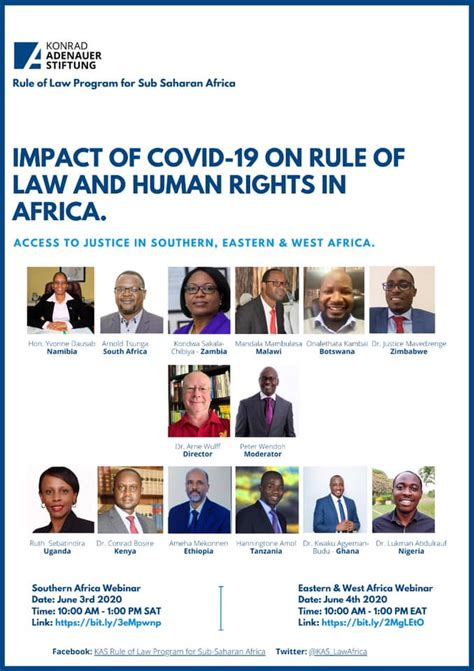KAS Rule of Law Program for Sub-Saharan Africa - Home