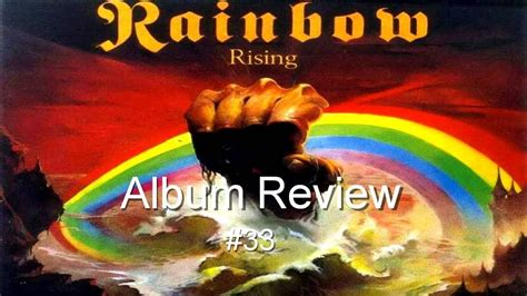 Rising by Rainbow Album Review #33 - YouTube