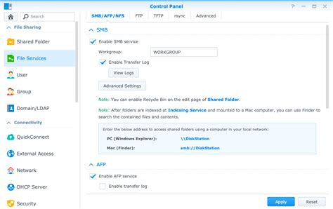 How to use PhotoSync with a Synology NAS? - PhotoSync