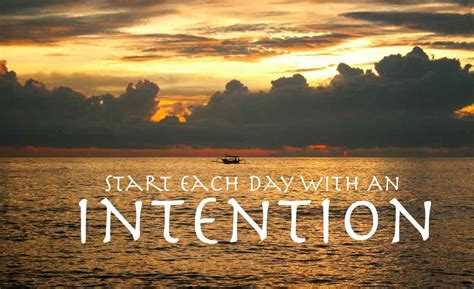 Setting Intention Allows You To Focus Your Energy