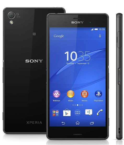 Sony Xperia ( 16GB , 3 GB ) Black Mobile Phones Online at