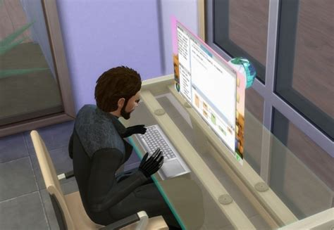 Holographic Computer by Esmeralda at Mod The Sims » Sims 4