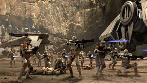 Star Wars Attack Battalion's Military Unit Of Branch