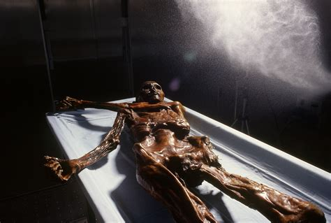 3D Printing Gives Ötzi the Iceman a Plastic and Resin