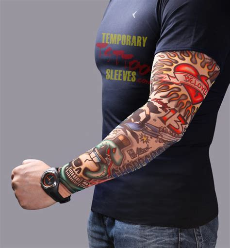 New Online Store Dedicated to Temporary Tattoo Sleeves