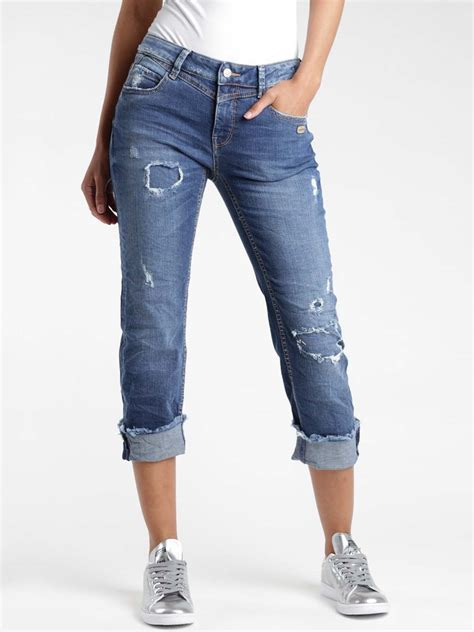 """Gang Damen Jeans - """"Luisa Straight Fit X Cropped Jeans Yve"""