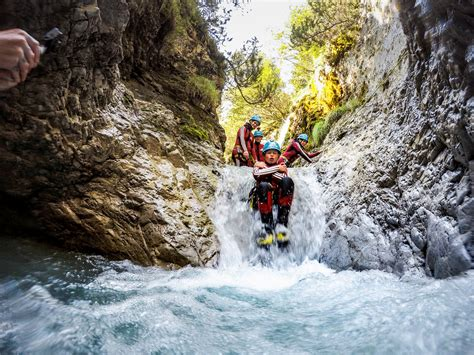 Canyoning for children? Guided trips only in the Ötztal