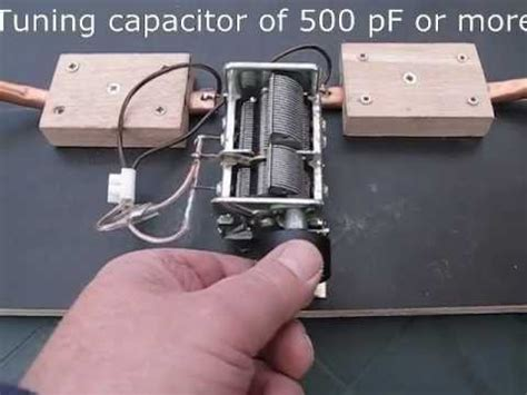 Homemade Magnetic Loop Antenna In Detail - YouTube