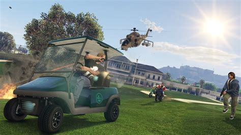 GTA 5's new Online Freemode Events go live - VG247