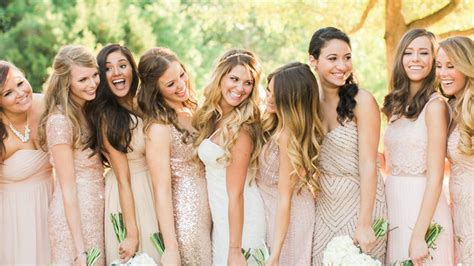 How to Do Mismatched Bridesmaid Dresses | InStyle